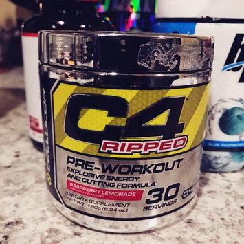 Photo of Cellucor C4 Ripped Raspberry Lemonade - 30 Servings, 180g (6.34 oz.) uploaded by Shantall E.