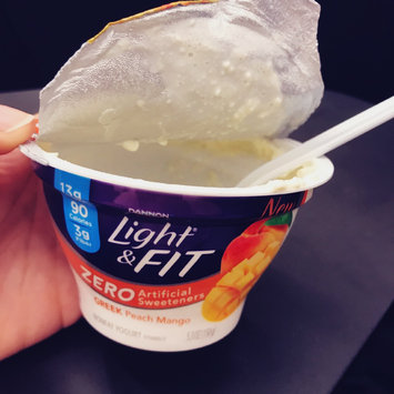 Photo of Dannon® Light & Fit Greek Yogurt uploaded by Juhi G.