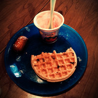 Kellogg's Eggo Chocolatey Chip Waffles uploaded by Jessica Q.