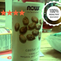 NOW Foods Solutions Castor Oil - 16 fl oz uploaded by salma r.