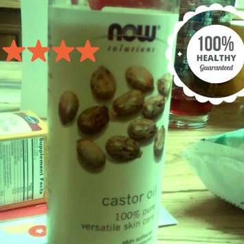 Photo of NOW Foods Solutions Castor Oil - 16 fl oz uploaded by salma r.