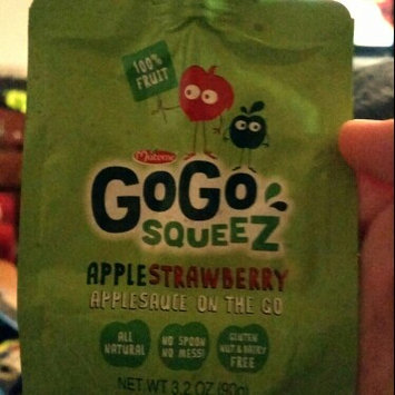 Photo of GoGo SQUEEZ APPLE STRAWBERRY APPLESAUCE ON THE GO uploaded by Amanda M.
