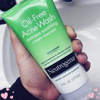 Neutrogena® Oil-Free Acne Wash Redness Soothing Cream Cleanser uploaded by Amanda B.