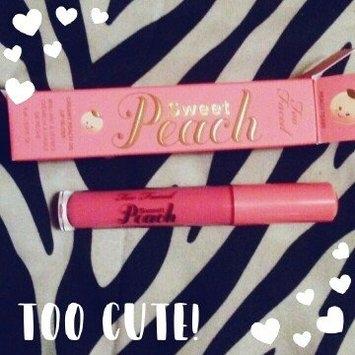 Too Faced Sweet Peach Creamy Peach Oil Lip Gloss uploaded by Nancy W.