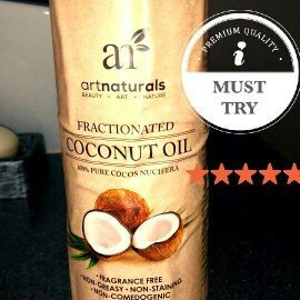 Photo of ArtNaturals Art Naturals Fractionated Coconut Oil 16 oz 100% Natural & Pure - Best Carrier / Massage Oil uploaded by Nkiru O.