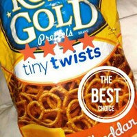 Rold Gold® Cheddar Flavored Tiny Twists Pretzels uploaded by Josie P.