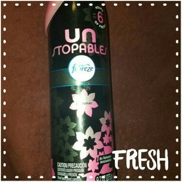 Febreze Unstopables™ Shimmer Air Refresher 9.7 oz. Aerosol Can uploaded by Faith D.