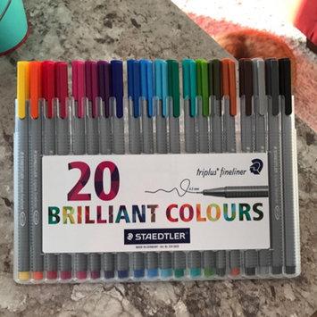 Photo of Staedtler Triplus Fineliner Pens, Assorted, Set of 20 uploaded by Erika H.