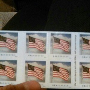 USPS Forever First Class Postage Stamps uploaded by Abigail G.