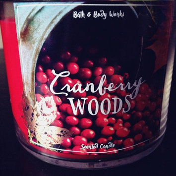 Photo of Bath & Body Works Cranberry Woods 3 Wick Scented Candle 14.5 Oz uploaded by Mari L.