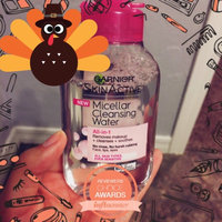 Garnier Skinactive Micellar Cleansing Water All-in-1 Makeup Remover & Cleanser 3 oz uploaded by Ashley M.