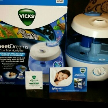 Vicks® Sweet Dreams Cool Mist Humidifier uploaded by Courtney  G.