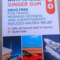 Sea Band Anti-Nausea Ginger Gum uploaded by Kacey P.