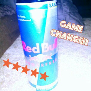Red Bull Sugarfree Energy Drink uploaded by Teal A.