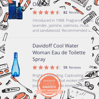 Davidoff Cool Water Woman Eau de Toilette Spray uploaded by Ishara G.