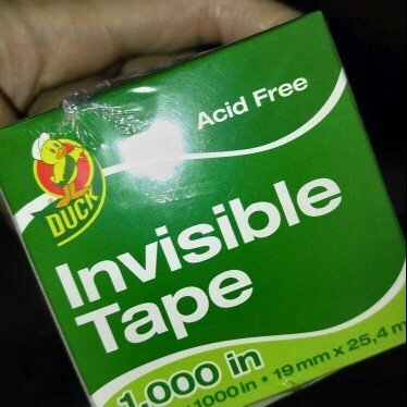 Duck Brand Invisible Matte Finish Acetate Tape, 3/4-Inch x 1000 Inches, 4 Refill Rolls (765030) uploaded by May H.