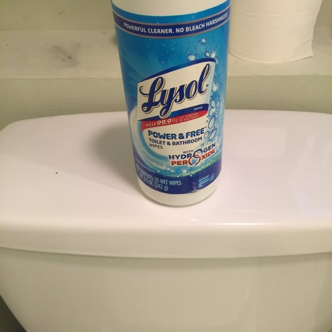 Lysol Wipes with Hydrogen Peroxide uploaded by Soledad K.