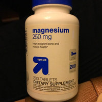 up & up up&up Magnesium 250 mg Tablets - 200 Count uploaded by Jamie B.