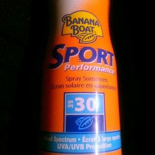 Photo of Banana Boat Sport UltraMist Sunscreen SPF 50 uploaded by Jessica Y.