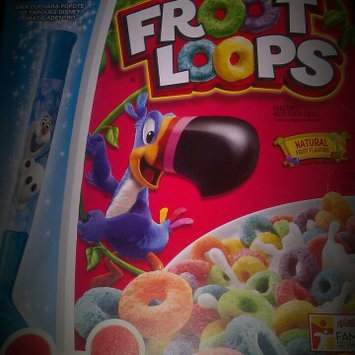 Kellogg's Froot Loops Cereal uploaded by Luz G.