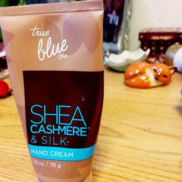 Photo of Bath Body Works Bath & Body Works True Blue Spa Shea Cashmere & Silk Hand Cream 2.5 Oz. uploaded by Lauren T.