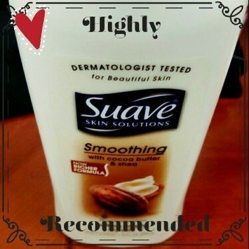 Suave® Skin Solutions Smoothing Body Lotion with Cocoa Butter & Shea uploaded by Ashley P.