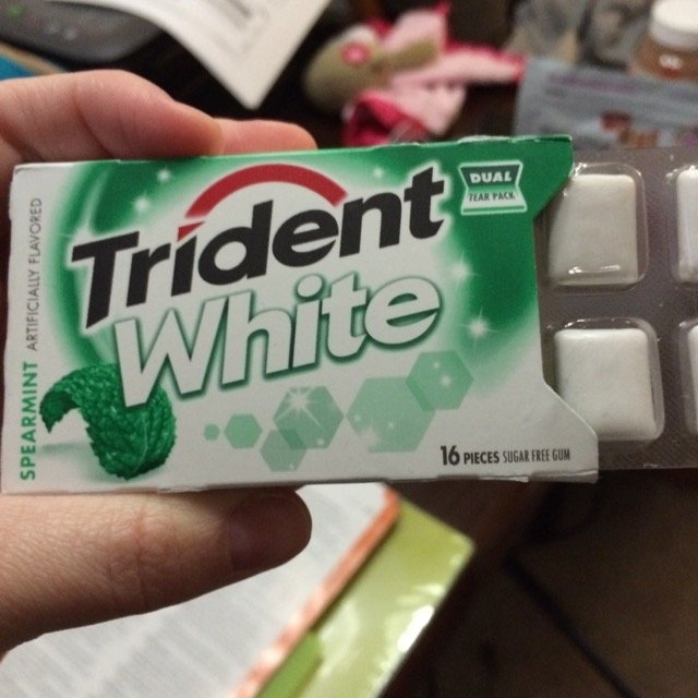 Trident Spearmint Sugar Free Gum uploaded by Stephanie B.