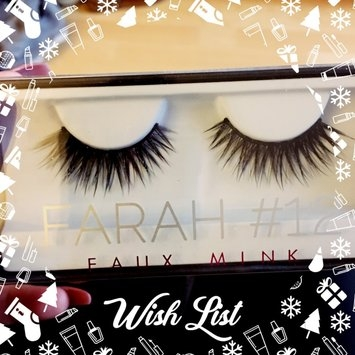 Huda Beauty Faux Mink Lash Collection #12 Farah uploaded by Wendy H.