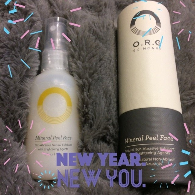 O.R.G. Skincare Mineral Peel Face uploaded by Alyse M.