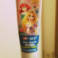 Pro Health Stages Crest Pro-Health Stages Kid's Toothpaste featuring Disney Princesses NPN 80002766 uploaded by Katrice D.