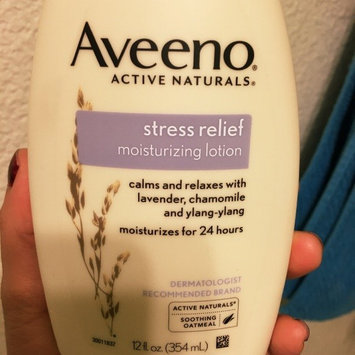 Photo of Aveeno® Stress Relief Moisturizing Lotion uploaded by Cesly B.