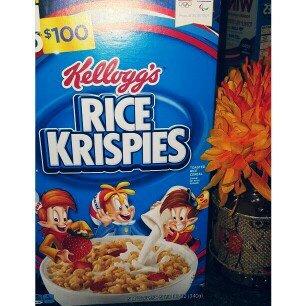 Kellogg's Rice Krispies Cereal uploaded by Jasmine J.