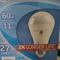Generic GE 60W Equivalent (Uses 11W) Daylight A19 2X Life LED Bulb, 1-Pack uploaded by Beth H.