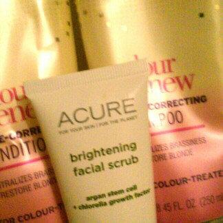 Acure Organics Brightening Facial Scrub uploaded by Meg K.