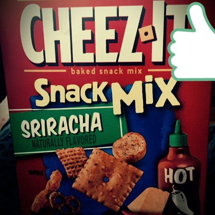 Cheez-It® Sriracha Baked Snack Mix 8 oz. Box uploaded by Amanda T.