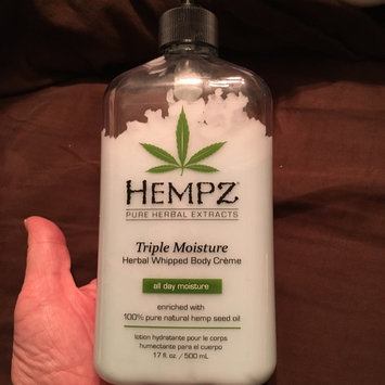 Hempz Triple Moisture Herbal Whipped Body Crème, 17 Fluid Ounce uploaded by Sara B.