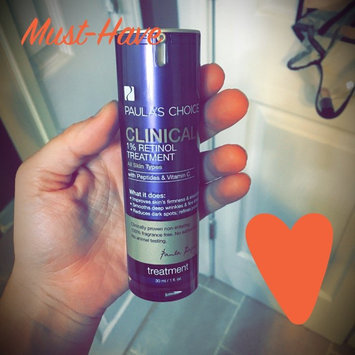 Photo of Paula's Choice CLINICAL 1% Retinol Treatment, 1 fl oz uploaded by Aubre R.