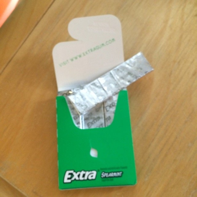 Extra Spearmint Sugar-Free Gum uploaded by Sarah G.