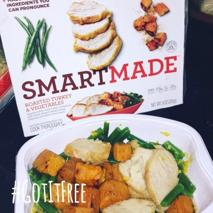 SmartMade™ by Smart Ones® Roasted Turkey & Vegetables uploaded by Hannah B.