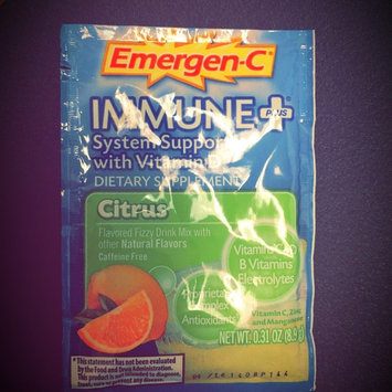 Photo of Emergen-C Immune+ System Support* with Vitamin D Blueberry-Acai uploaded by Christy M.