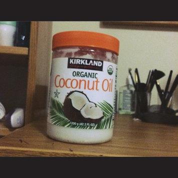 Photo of Kirkland Signature Organic Virgin Coconut Oil Cold Pressed Unrefined 42.3 Fl oz uploaded by Kat S.