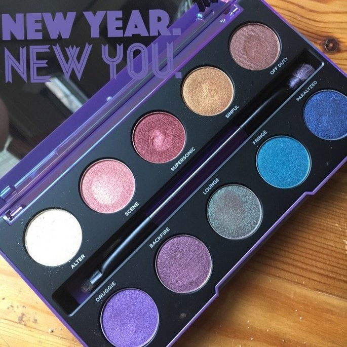 Urban Decay Afterdark Eyeshadow Palette uploaded by Christina M.