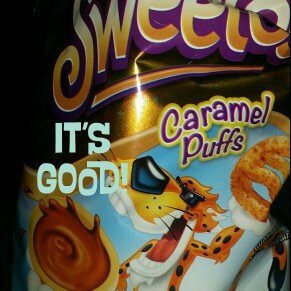 Photo of Cheetos Sweetos Caramel Flavored Puffs uploaded by Rebecca B.