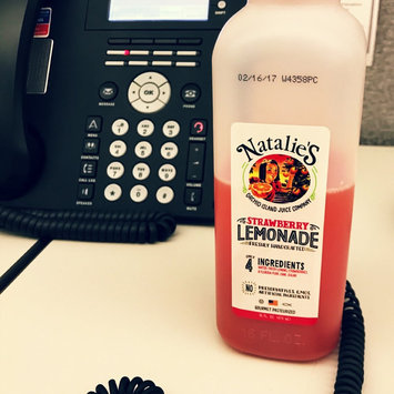Photo of Natalie's Hand Crafted Strawberry Lemonade uploaded by Courtney A.