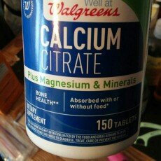 Photo of Walgreens Calcium Citrate Plus Magnesium & Minerals, Tablets, 150 ea uploaded by Amia D.