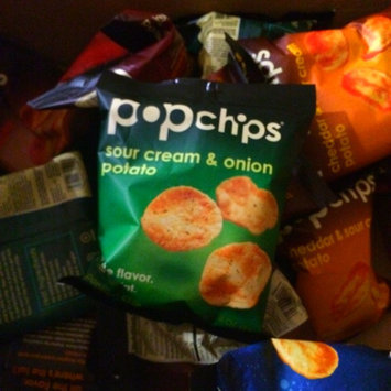 Photo of popchips Sour Cream & Onion Potato Chips uploaded by Laura M.