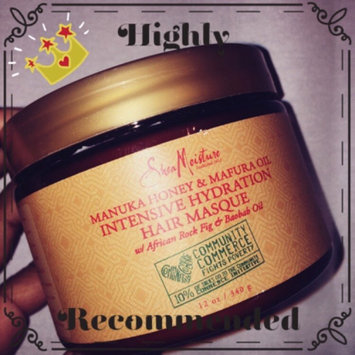 SheaMoisture Manuka Honey & Mafura Oil Intensive Hydration Hair Masque uploaded by Kharine C.