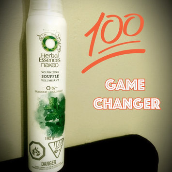 Photo of Herbal Essences Naked Volume Volumizing Souffle uploaded by Tanya G.