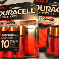 Duracell Quantum Alkaline Batteries, AAA, 6 ea uploaded by Taniesha F.