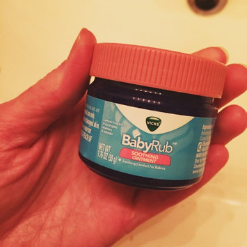 Photo of Vicks Baby Rub Soothing Ointment uploaded by Leslie T.